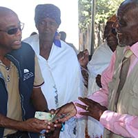 CDC councillors visit Gweta and Zoroga villages.
